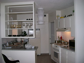 Typical kitchen layout in all floorplans