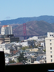"Golden Gate View - upper floor ""A"" apartments and view from ""F"" balconies!"